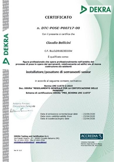 posa certificata qualificata serramenti valcamonica