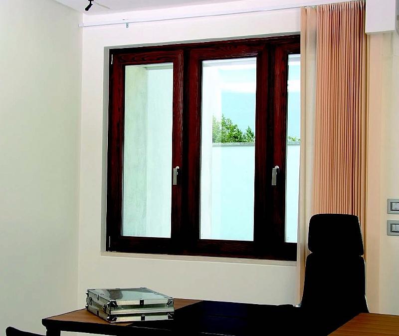 Infissi legno alluminio costo fabulous serramenti in for Prezzo mq serramenti alluminio